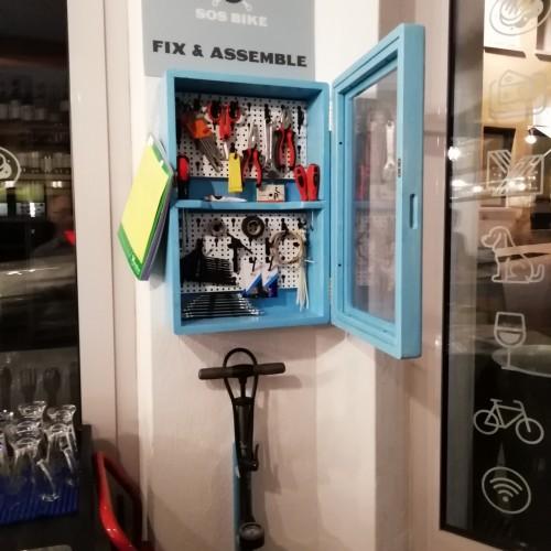 Cassetta attrezzi pronto soccorso bike