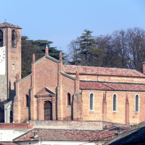 Chiesa Parrocchiale di San Salvatore e campanile - Ozzano Monferrato