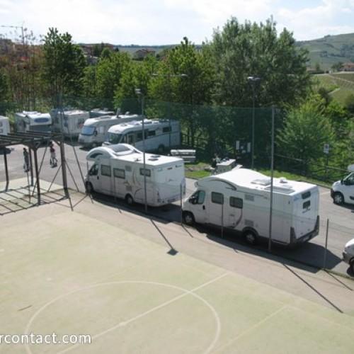 Area sosta camper Castiglione falletto