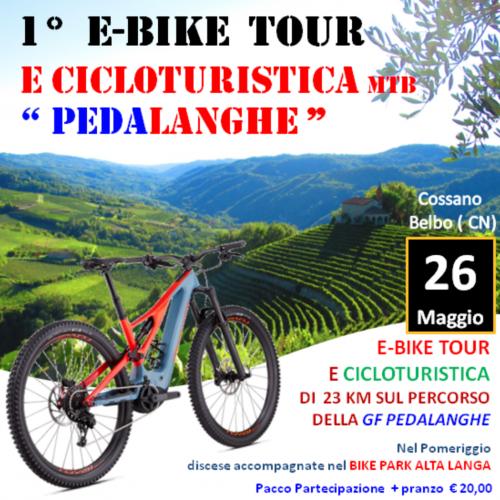 Cicloturistica e E-bike – 23 km