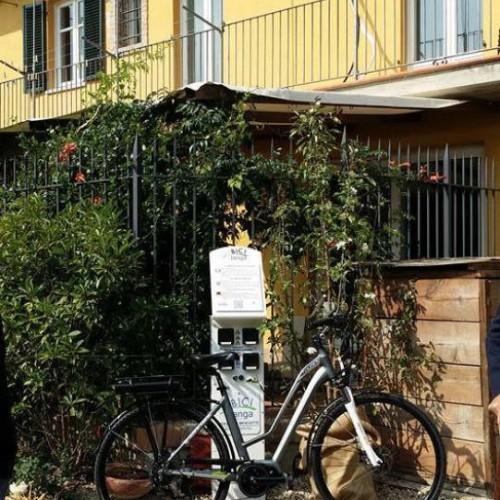 Colonnina E-bike - Guarene
