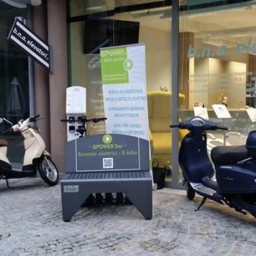Colonnina E-bike - Mussotto Alba