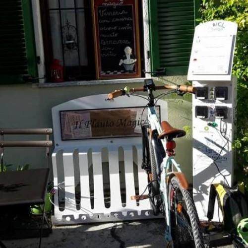 Colonnina E-bike - Serralunga