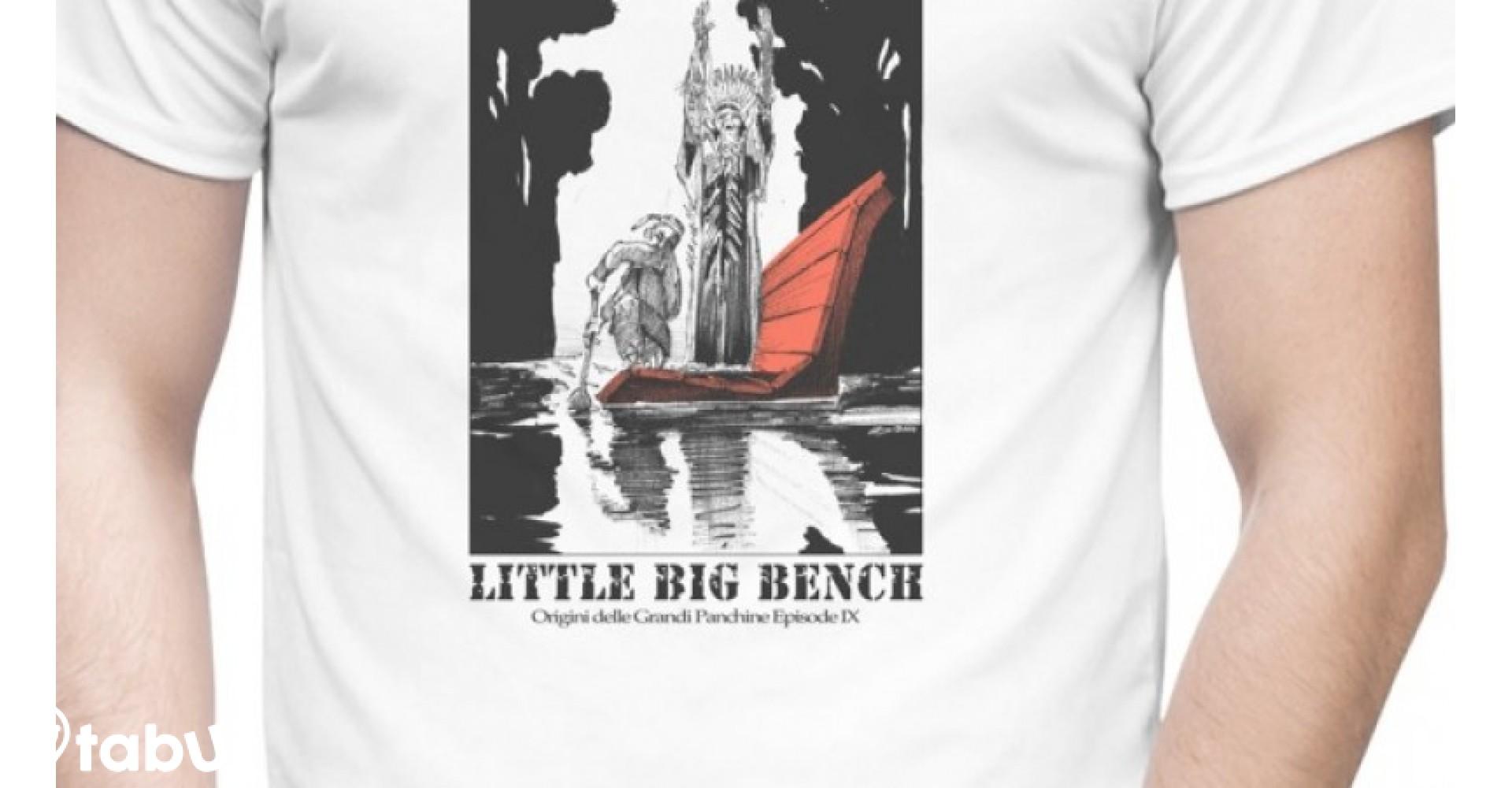 T-SHIRT Little Big Bench DONNA