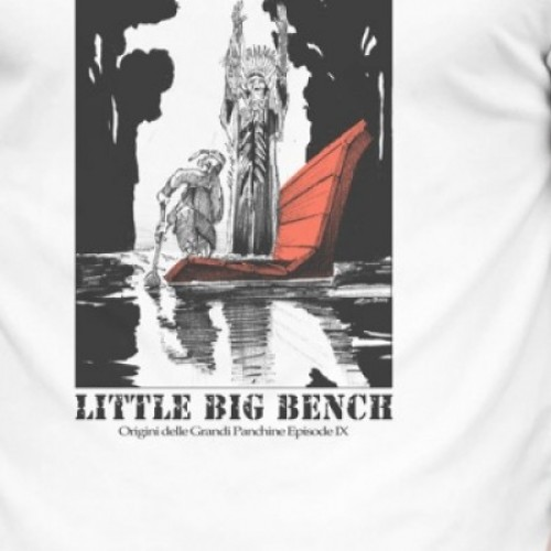 T-SHIRT Little Big Bench DONNA
